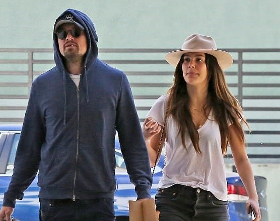 Leonardo DiCaprio 43 One Of Hollywoods Most Eligible Bachelors And His Argentine Model Girlfriend Camila Morrone 20 Were Spotted Enjoying A Romantic