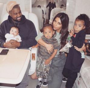 Kim Kardashian shares adorable family photo