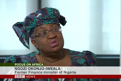 Ngozi Okonjo-Iweala on BBC