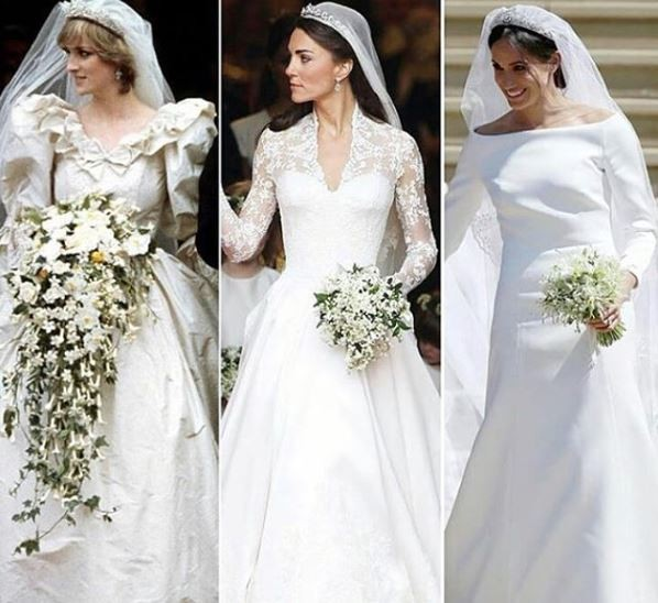 #RoyalWedding: Princess Diana VS Kate Middleton VS Meghan Markle... which gown is your favourite