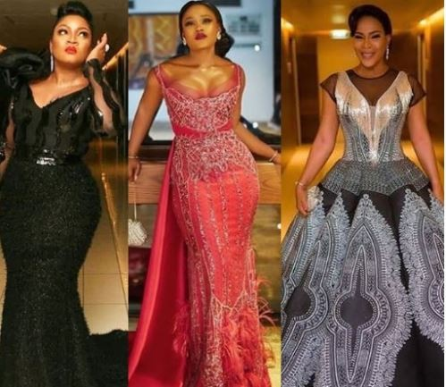 Image result for #AMVCA2018: Ceec, Omotola, Toyin Abraham, check out 10 of the best dressed female celebs