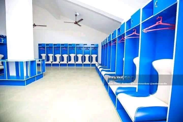 Check out Enyimba spanking new dressing room