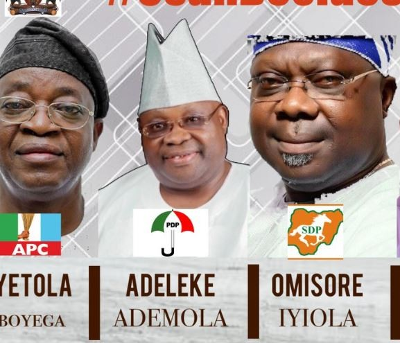 Recent Osun contacts