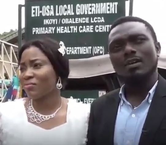 Couple lament after NLC strike disrupts their wedding registry (Video)