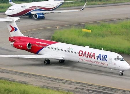 Dana Airline threatens to downsize after loosingN100m to on-going strike action
