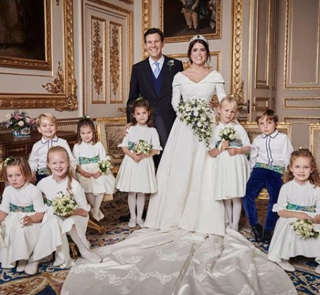 "Official photoraphs from Princess Eugenie and Jack Brooksbank""s wedding released"