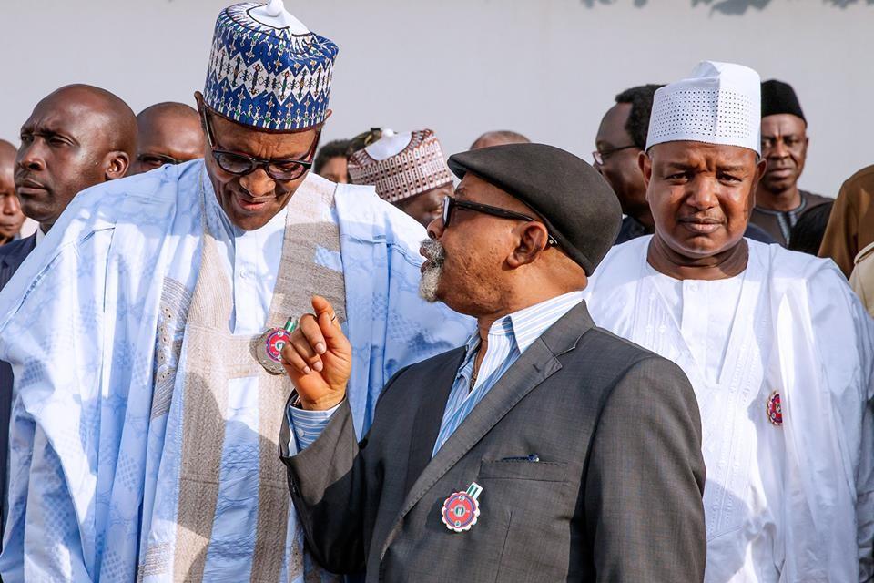 Buhari and Chris ngige