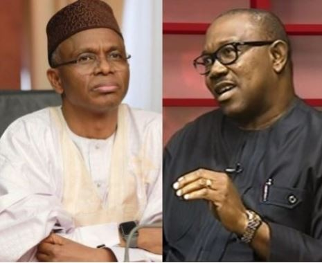 Image result for PDP hits back at El-Rufai for calling Peter Obi 'tribal bigot'