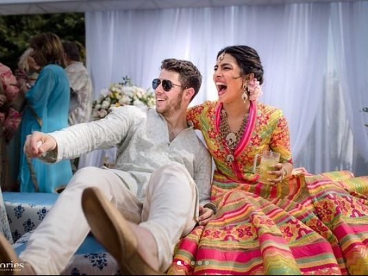 More photos fromNick Jonas and Priyanka Chopra's star-studded wedding ceremony in India