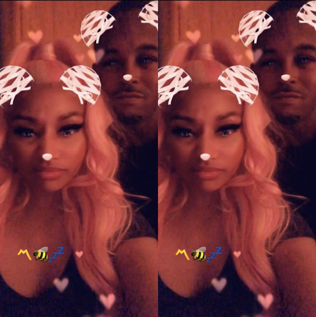 Nicki Minaj is allegedly dating a convicted rapist Kenneth 'Zoo' Petty(Screenshots)