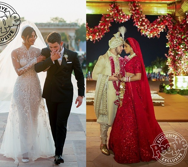 Newlyweds Priyanka Chopra and Nick Jonas release first official photos from their flamboyant wedding in India