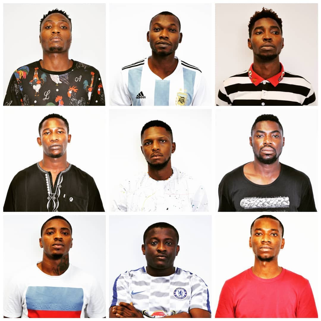EFCC arrests 9 internet fraudsters in Abuja