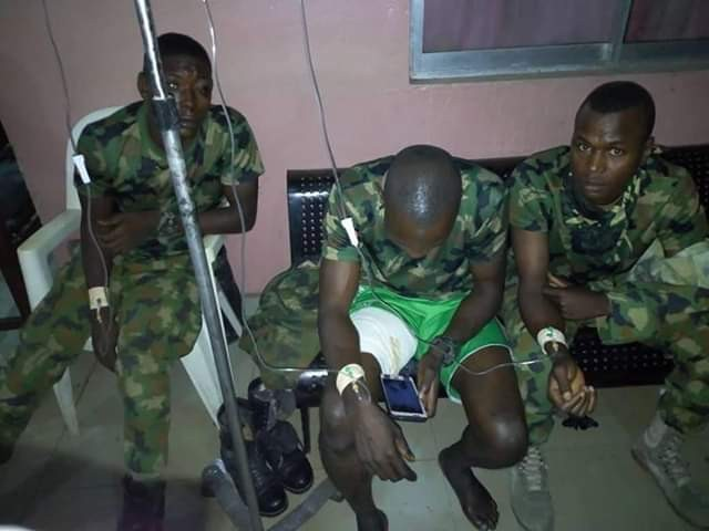 Nigerian soldiers, civilians involved in serious accident in Umuahia