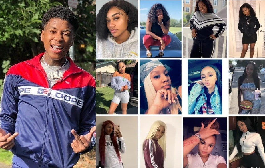 US rapper NBA Youngboy ,19, reportedly dating 12 women at the same time (Photo)