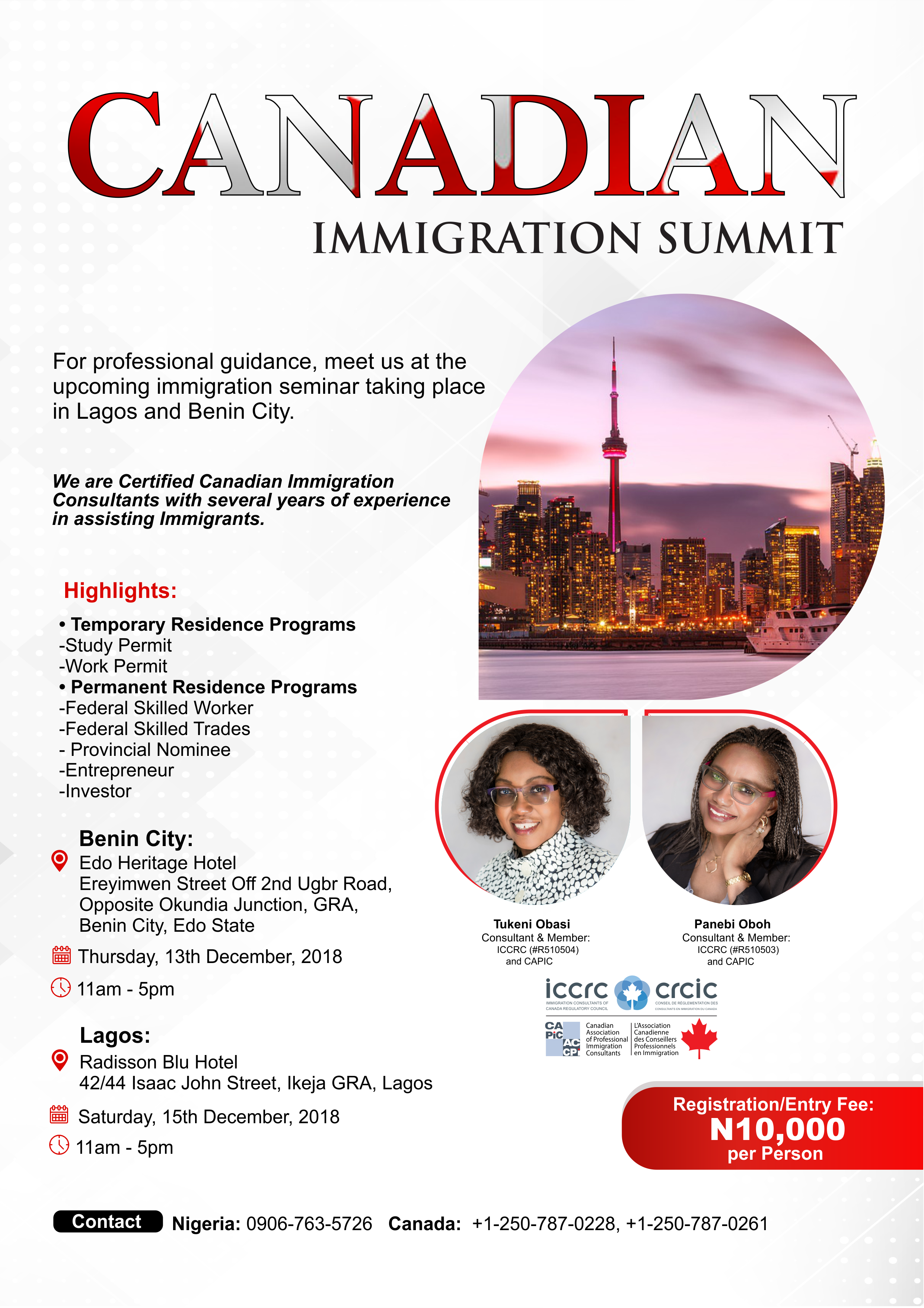 Canada Immigration Summit