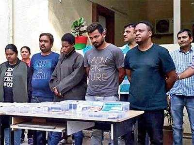 Photo: Police bust Nigerian-led gang that cheated 21 people in India