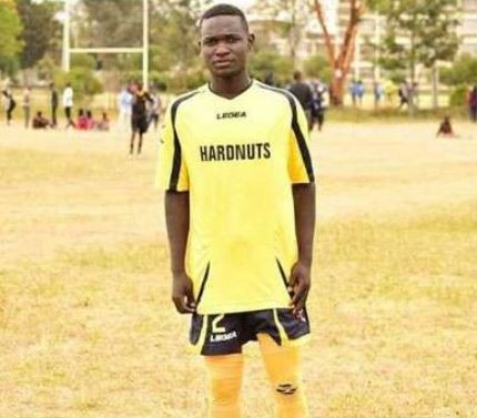 20-year old footballer, Allan Mbote killed by lightning as he celebrated a goal