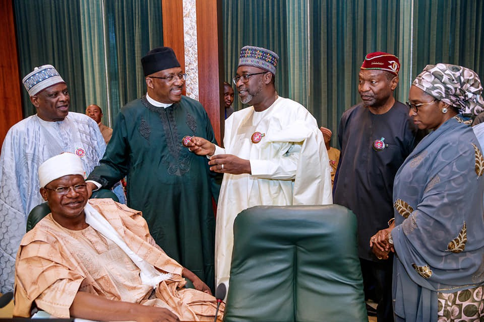 Breaking: Jubril resigns after today's Federal Executive Council meeting