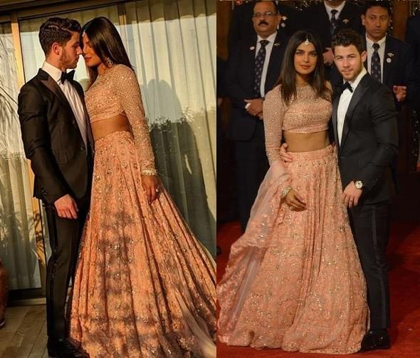 Priyanka Chopra and Nick Jonas attend lavish $100m wedding of India's richest heiress(Photos)