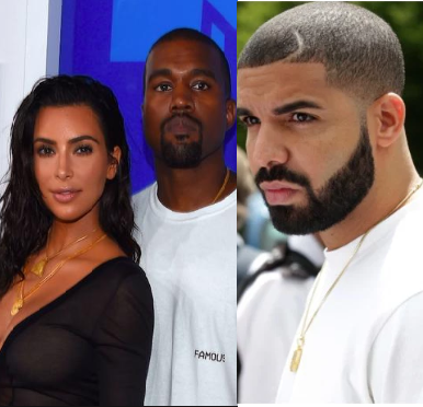 Kim Kardashian comes to her husband's defense after he tweeted 125 times at Drake in epic Twitter rant