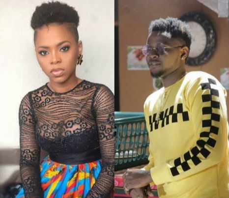 Between Kizz Daniel, Chidinma and a fan who wants to 'suck' her lips nicely