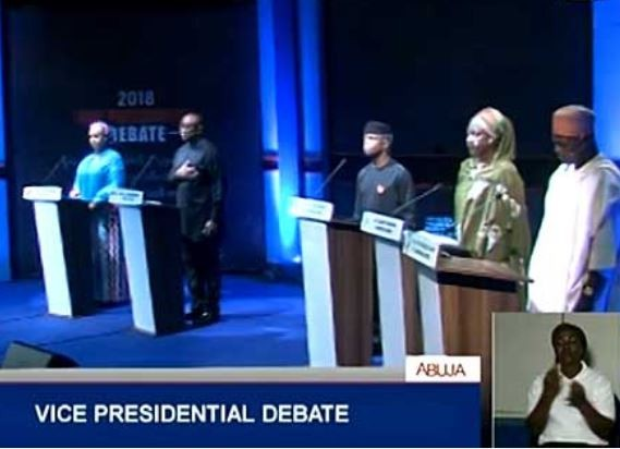 10 Punchlines fromvice presidential candidates at the #2019Debate