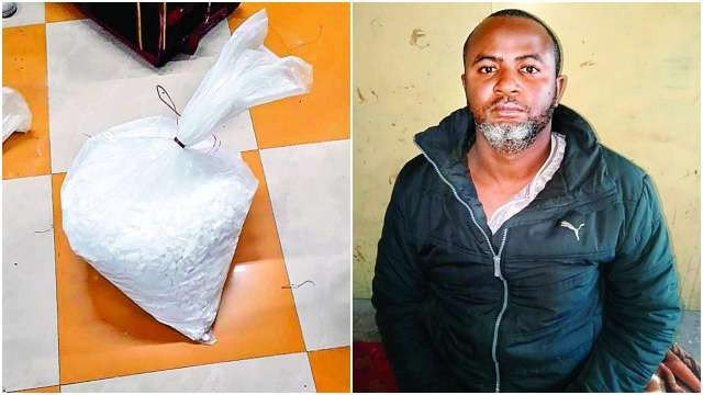 Nigerian man arrested by Narcotics Control Bureau in India for drug trafficking