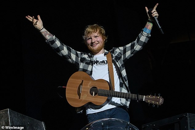 Ed Sheeran smashes record for most money made on tour in a single year after raking in 342m in 2018