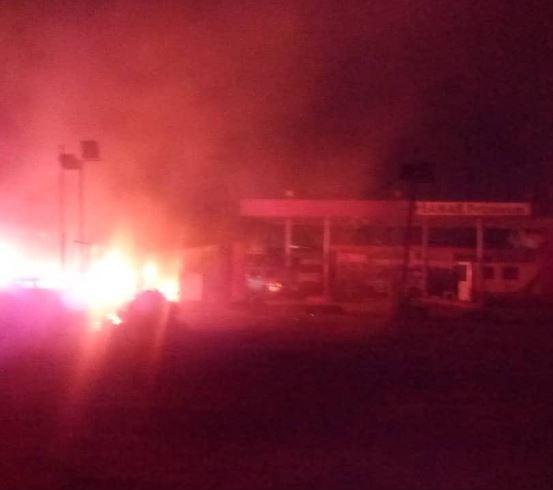 Pipeline explosion rocksAbule Egbain Lagos (Photos)