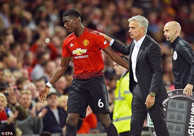 How Paul Pogba 'celebrated' Jose Mourinho's exit from Manchester United in the changing room revealed