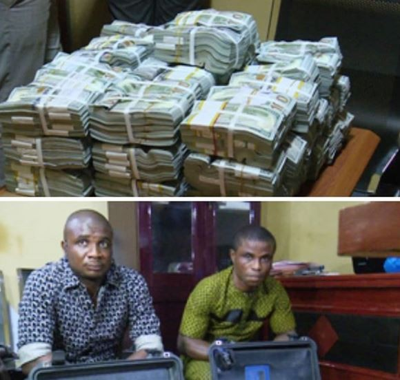 EFCC Intercepts $2.8 Million cash at theAkanu Ibiam International Airport, Enugu (Photo)