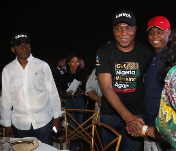 Senate President, Bukola Saraki attends Davido's concert in Lagos (Photos)