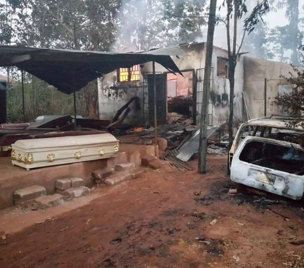 Police launch investigation into fire outbreak that left over 50 bodies burnt beyond recognitionin a morgue in Anambra State