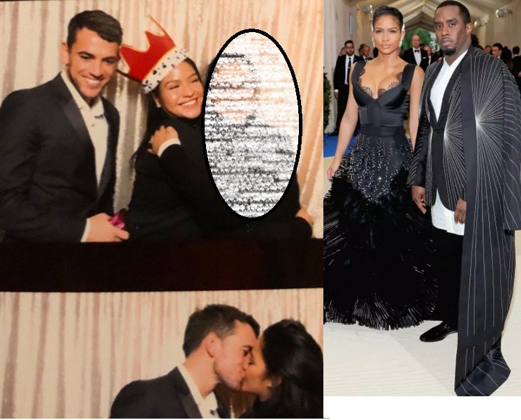 New report claims the fitness trainer Cassie was pictured kissing was hired by Diddy to keep her fit but they ended up sleeping together