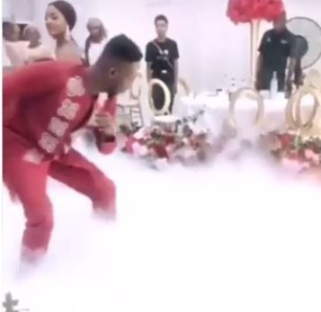 First video from Simi and Adekunle Gold's wedding diging it out on the dance floor