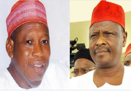Governor Ganduje who was accused of taking bribe,drags Kwankwaso to EFCC for alleged corruption and diversion of governmentfunds