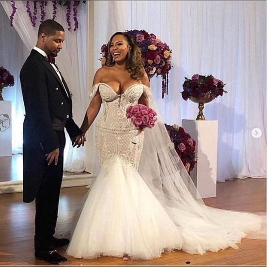 US rapper Juelz Santana quickly marries his fiancee Kimbella as he prepares to be locked up in prison for 2-years (Photos)