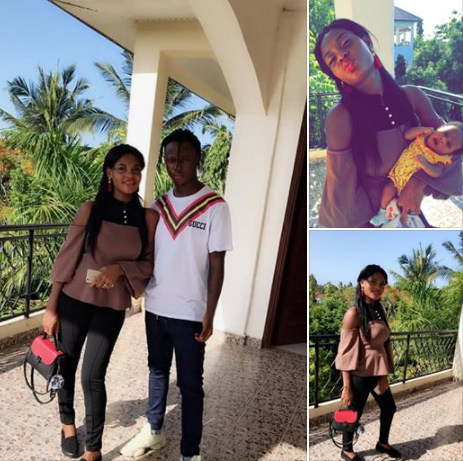 Nigerian man professes love for his babymama hours after he publicly stated he was dumping her for stabbing him in Tanzania (video)