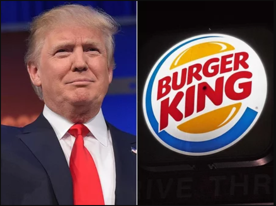 Burger King shades Donald Trump for misspelling 'Hamburgers' on Twitter