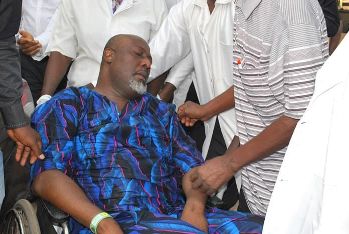 Breaking: Court grants Dino Melaye bail on health ground