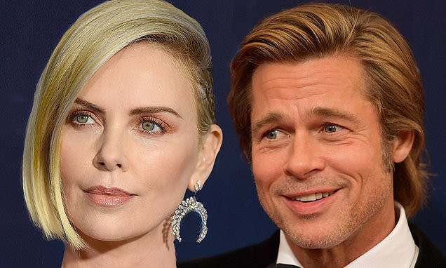 Brad Pitt, 55, is reportedly 'dating' actress Charlize Theron, 43 and they were all over each other last week'