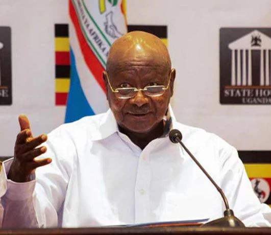 Ugandan President,Yoweri Musevenibans gambling and sports betting in the country