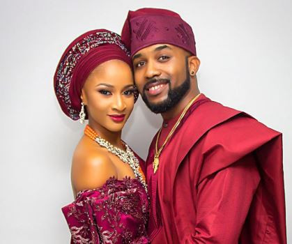 'My husband has never collected a dime to support Buhari' - Adesua Etomi defends Bany W