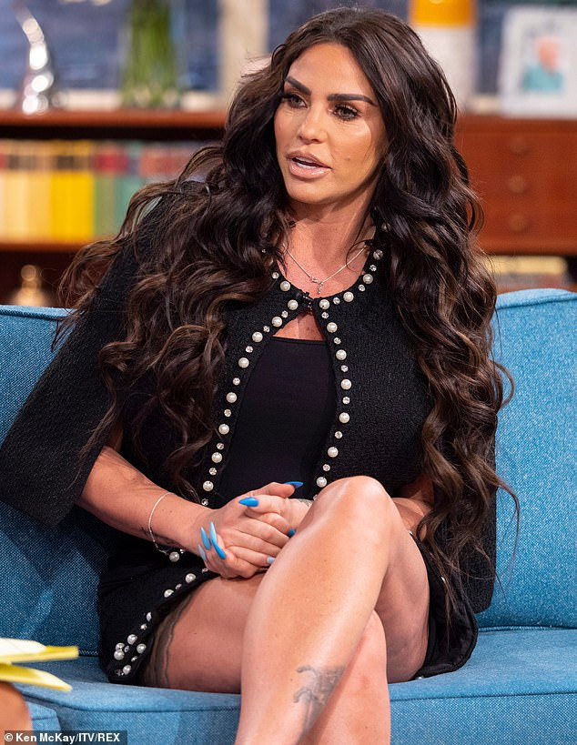 TV Personality and former glamour model Katie Price wants to adopt a Nigerian orphan