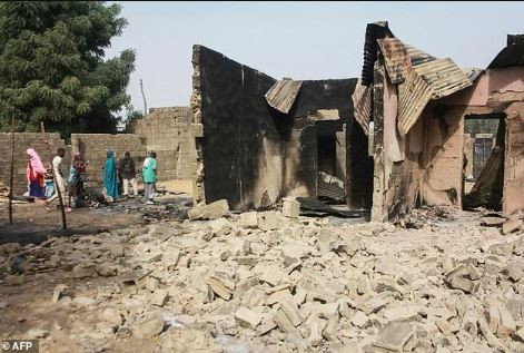 New UN report says, 'fear of Boko Haram attack sees 30,000 flee town of Rann and across the border to Cameroon'