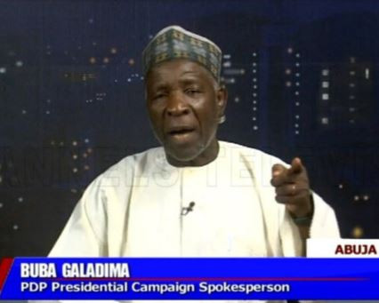 Local Goverments were paid about N20million to purchase people for President Buharis rallies - BubaGaladima alleges