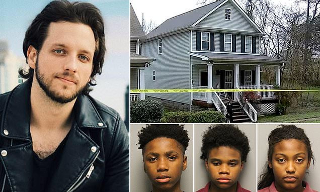 Five children range in age from 12 to 16 including a girl charged with murder for killing country musician Kyle Yorlet (Photos)