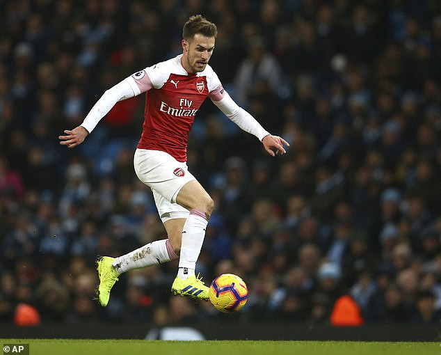 Arsenal star Aaron Ramsey set to become Britain's highest-ever paid player on 400k-a-week when he joins Juventus in 83m deal