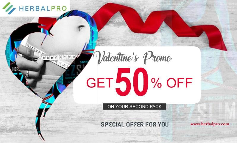 EZ Slim Valentine offer is here! Get EZ Slim's half price deal now