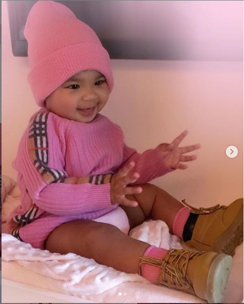 Khloe Kardashian shares adorable new photos of baby True as she clocks 10 months
